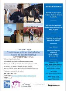 curso 11 y 12 mayo equidinamia