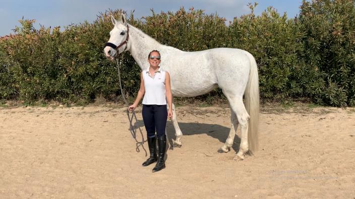 ipsi y nata estiramientos a caballo