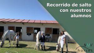 recorrido de salto con nuestros alumnos nmv horses